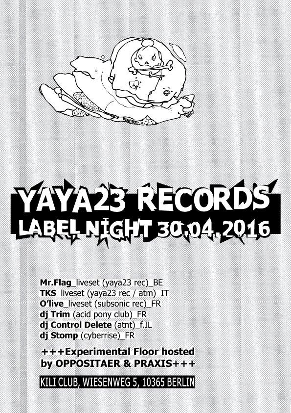 walpurgisrave at kili club berlin 30.4.16-1.5.16 yaya23 label night