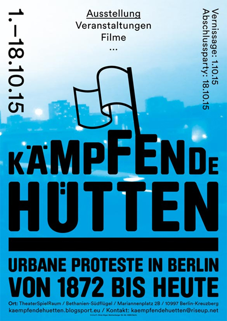 kämpfende hütten bethanien berlin ausstellung 2015