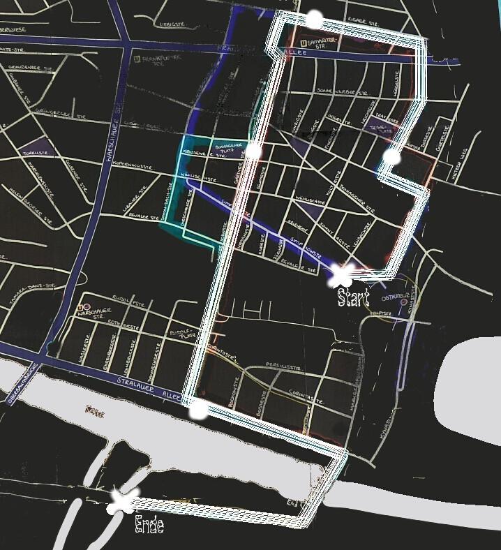 vorläufige route mbf 2016 karte plan map