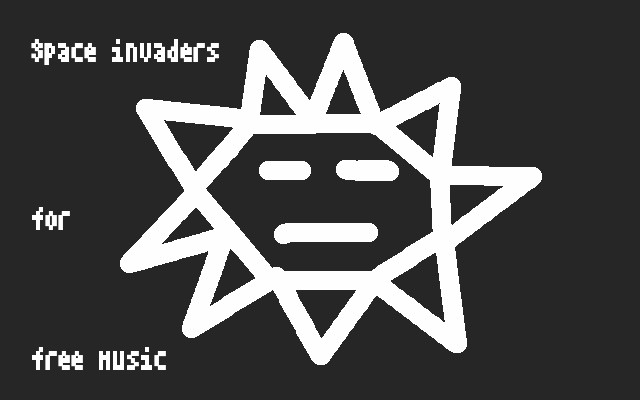 space invaders for free music !