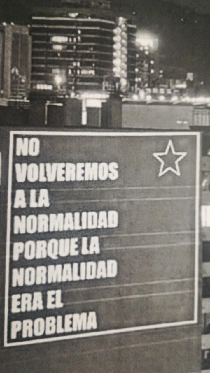 No a la normalidad